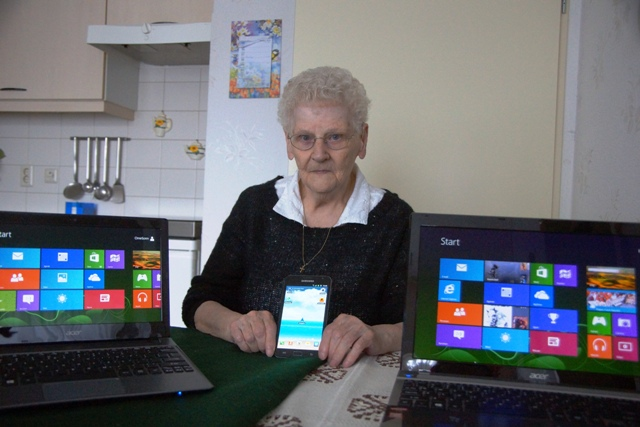 Niet iedereen snapt die computer bergen op zoom in beeld - Moderne apparaten ...