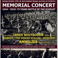 Componist James Whitbourn aanwezig bij wereldpremiere Memorialconcert in Bergen op Zoom