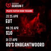 Poppodium Gebouw-T doet mee met pilot 'Testen voor Toegang'