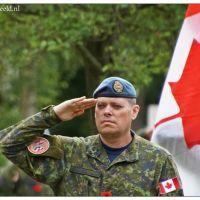 Canadese militairen op bezoek in Bergen op Zoom