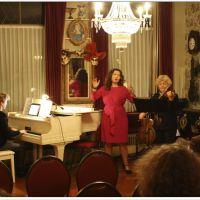 ruimte voor vocalisten, pianisten, violisten, fluitisten, harpisten etc.