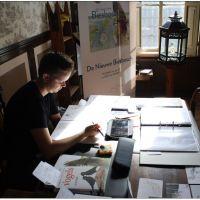 Twee kunstenaars exposeren in Gehoorzaal  tijdens Monumentenweekend