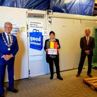 Ambassade van België steekt Bergse voedselbank een hart onder de riem